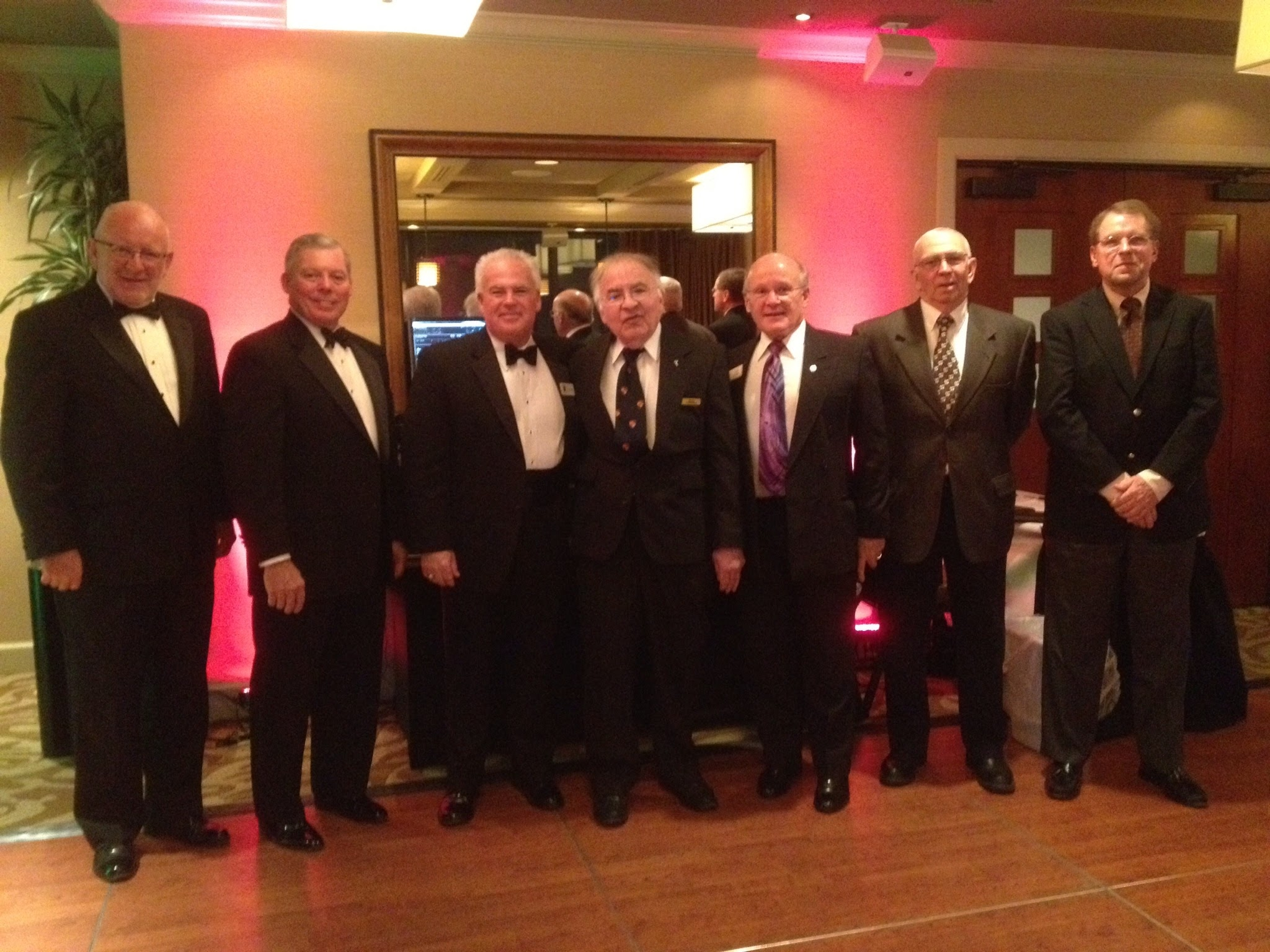 Former CIR Presidents: Tom Brentlinger, Don Shuck, Rob Fike, Mike Robbins, Bob Snider, Philip Allgood and Larry Haskett.