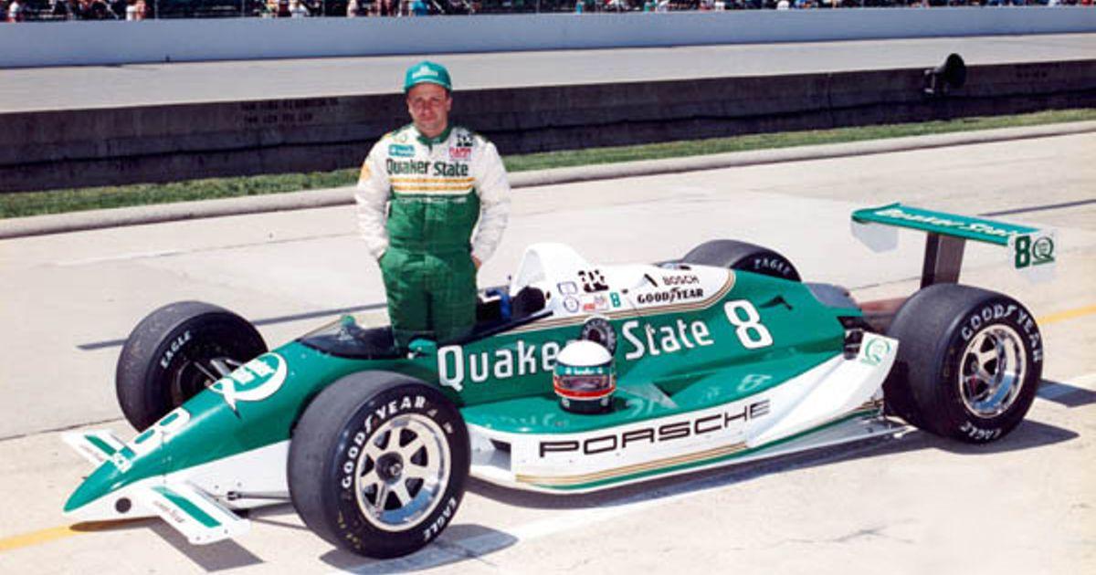 1988 Teo Fabi's Porsche Indy Ride sponsored by Quaker State