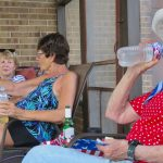 staying hydrated is key with Judy Fike and Bigitta Snider