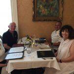 Scott & Pam Ferguson of Brownsburg with Brian & Rebecca Pinto
