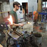 Simon Pierce Glass Blowing Shop