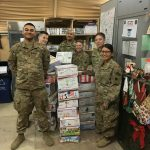 This is the response from LTC J. Todd Norris:  CLASSIFICATION: UNCLASSIFIED  Hillcrest Guardian Angel Friends,   Merry Christmas and Happy Holidays to you and your families.  We in the 38 Infantry Division (38ID) are humbled by your kindness, care, and generosity for our Soldiers.  We have hand delivered your stockings to every Soldier within the 38ID as well as other Soldiers here in Kuwait.  The smiles and thankfulness exuded by our Soldiers to you all was priceless.  I have included some photos (see attached) from the deliveries.  Unfortunately, we operate in a highly secure area and camera are not allowed in many of our places.  I did convey the message and history of the Hillcrest Guardian Angels and I would anticipate Soldiers will be reaching out to you all to provide their personal thanks.  Thank you for taking your time and resources to provide a some