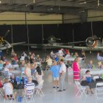 what a wonderful venue for the evening - Thank You Tom Wood Aviation — at Tom Wood Aviation.